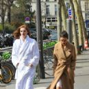 Alexina Graham and Luma Grohte – L'Oreal Photoshoot in Paris - 454 x 681