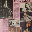 Pola Raksa - Ekran Magazine Pictorial [Poland] (28 October 1984) - 454 x 639