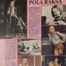Pola Raksa - Ekran Magazine Pictorial [Poland] (28 October 1984) - 454 x 639