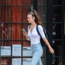 Charlotte Le Bon out and about in the East Village in New York City, New York on August 5, 2016 - 388 x 600