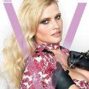 Lara Stone - V Magazine Cover [United States] (January 2017) - 454 x 620
