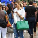Arielle Kebbel Street Style – Shopping at The Grove in LA 11/19/ 2016 - 454 x 676