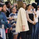 Queen Letizia of Spain Visits Gipsy Secretariat Foundation