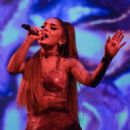 Ariana Grande – Performing at her Sweetener World Tour at O2 Arena in London