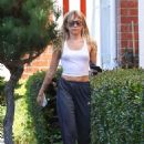 Miley Cyrus – spotted after a yoga session in Los Angeles
