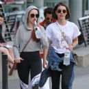 Madelaine Petsch and Adelaide Kane at Stanley Park in Vancouver July 11, 2017 - 454 x 681