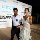 Shanina Shaik and DJ Rufus – 2018 UNICEF Gala in Porto Cerv - 454 x 681