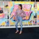 Lea Michele – 'Versus' Premiere Event in Santa Monica - 454 x 361