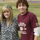 Daryl Sabara and Courtney Jines