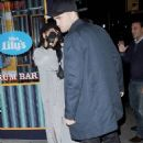 Robert Pattinson with FKA Twigs Romantic Night Out in Manhattan   (November 10, 2014)