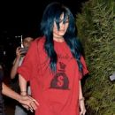 Kylie Jenner is spotted out for dinner at the KOI Restaurant in West Hollywood, CA June 14, 2016