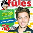 Zac Efron - Fules Magazine Cover [Hungary] (1 September 2015)
