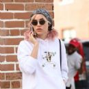 Suki Waterhouse out and about in New Orleans