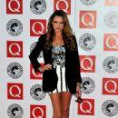 Nadine Coyle-Q Awards In London-25.10.2010