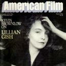 Lillian Gish - American Film Magazine Cover [United States] (March 1984)