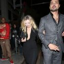 Not a husband or wedding ring in sight as Francesca Eastwood dines out with mystery man... days after marrying Jordan Feldstein