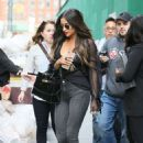 Shay Mitchell in Sknny Jeans out in NYC - 454 x 680