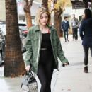 Lucy Hale out for breakfast in LA