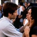 David Duchovny and Minnie Driver