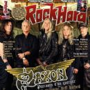 Paul Quinn, Biff Byford, Nigel Glockler, Nibbs Carter - Rock Hard Magazine Cover [France] (December 2012)
