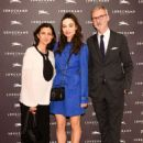 Crystal Reed – Longchamp Fifth Avenue Store Opening in NY - 454 x 636