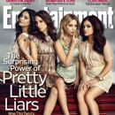Lucy Hale, Troian Bellisario, Shay Mitchell, Ashley Benson, Pretty Little Liars - Entertainment Weekly Magazine Cover [United States] (1 March 2013)