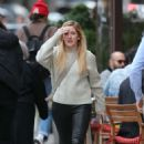 Ellie Goulding – Leaving Saint Ambroeus in New York