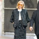 Kristen Bell – Arriving for Jimmy Kimmel in Los Angeles