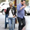 Kristin and Dana spotted getting a  Starbucks run on November 15, 2013 in Los Angeles