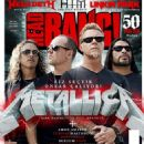 James Hetfield, Kirk Hammett, Lars Ulrich, Robert Trujillo - Headbang Magazine Cover [Turkey] (August 2014)