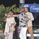 Goldie Hawn – Out for dinner in Malibu