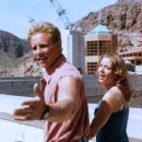 Ian Ziering and Katherine Kelly Lang