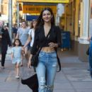 Victoria Justice Showed Off Her Toned Tummy – Out on Broadway in NYC 06/21/2017