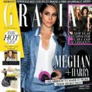 Meghan Markle - Grazia Magazine Cover [United Kingdom] (9 January 2017) - 454 x 590