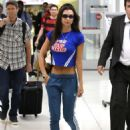 Emily Ratajkowski – Arriving at LAX Airport in Los Angeles