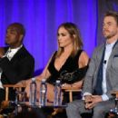 Jennifer Lopez of 'World Of Dance' speaks onstage during the 2017 NBCUniversal Summer Press Day at The Beverly Hilton Hotel on March 20, 2017 in Beverly Hills, California - 454 x 316