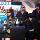 Nikki Sixx of Mötley Crüe speaks during the press conference for THE STADIUM TOUR DEF LEPPARD - MOTLEY CRUE - POISON at SiriusXM Studios on December 04, 2019 in Los Angeles, California - 454 x 310