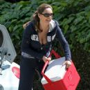 Kelly Brook - Downblouse Candids In Los Angeles