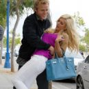 Heidi Montag and Spencer Pratt: Café Primo Couple