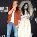 Ivana Baquero – Knott's Scary Farm Celebrity Night  Photocall in Buena Park - 454 x 656