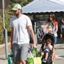 'Furious 7' actress Jordana Brewster went to the farmer's market with her family in Los Angeles, California on August 21, 2016 - 454 x 366