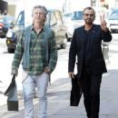 Ringo Starr defies his 75 years as he looks impossibly youthful whilst enjoying a day out with son Jason Starkey, 48 - 454 x 537