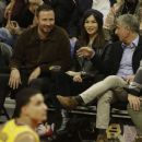 Gemma Chan at Los Angeles Lakers Vs The Clippers Game in Los Angeles - 454 x 381