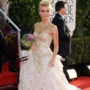 Julianne Hough: arrives at the 70th Annual Golden Globe Awards held at The Beverly Hilton Hotel in Beverly Hills - 395 x 594