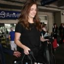 Barbara Palvin Arrives at Nice Airport in Cannes