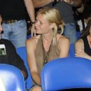 Gwyneth Paltrow At Coldplay Concert ,2009-05-15