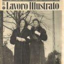 Merle Oberon - Il Lavoro Illustrato Magazine Cover [Italy] (23 November 1952)