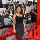 Nicki Minaj attends the 2014 MTV Movie Awards at Nokia Theatre L.A. Live on April 13, 2014 in Los Angeles, California