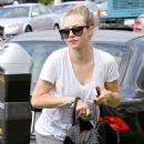 Amanda Seyfried and Finn in West Hollywood (August 27)