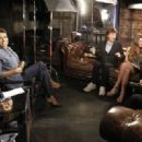 Robin Roberts talks with Mick Jagger, Joss Stone, AR Rahman and Dave Stewart about their first collaboration for new cd SuperHeavy - 19 September 2011 - 454 x 321